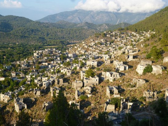 Kaya village ghost town Turkey