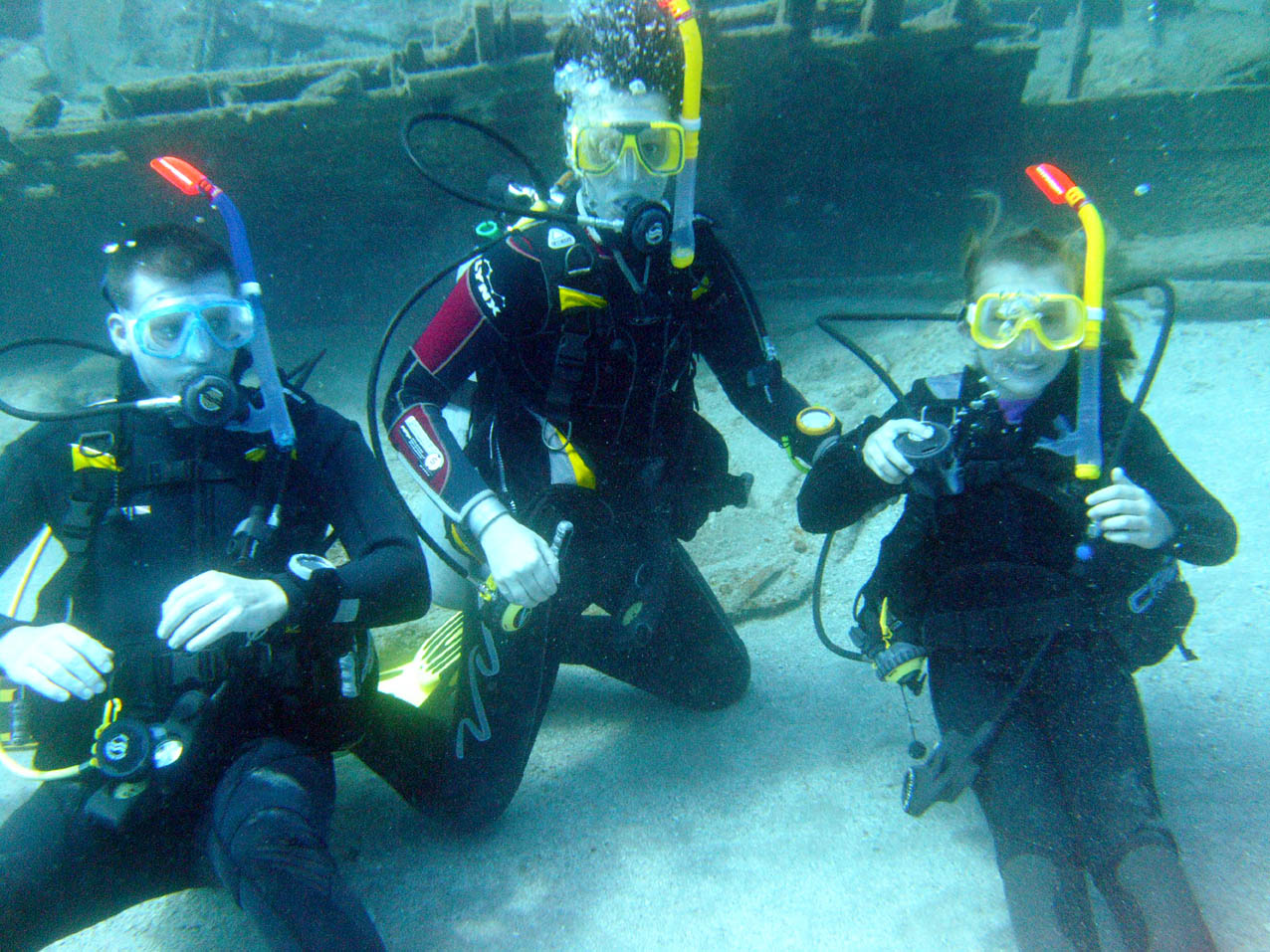 Scuba diving in Oludeniz