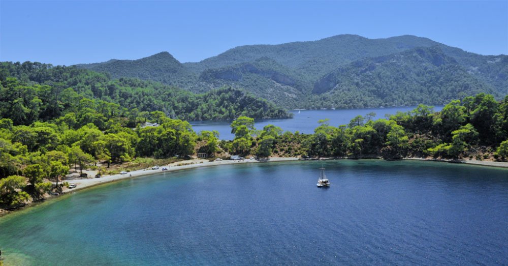 private boat hire in fethiye Turkey
