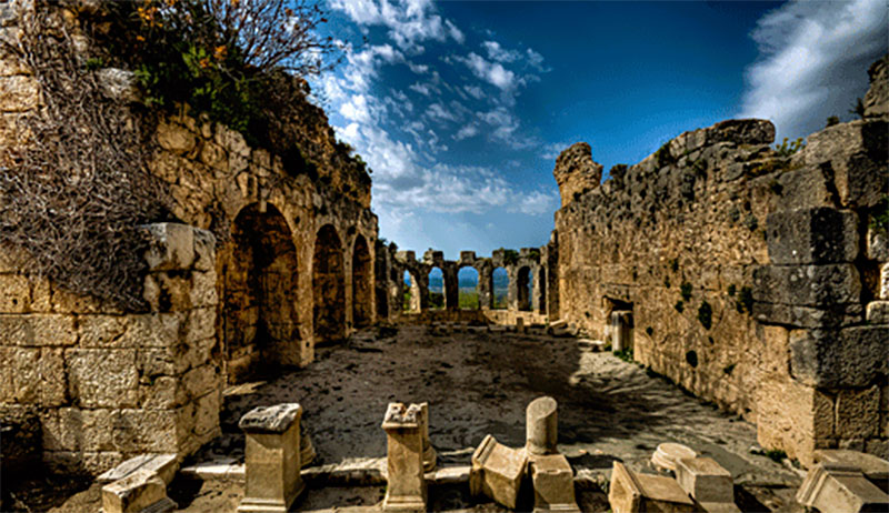 tlos antique city in Turkey